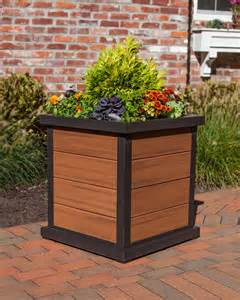 diy how to build a weather resistant planter box with trex