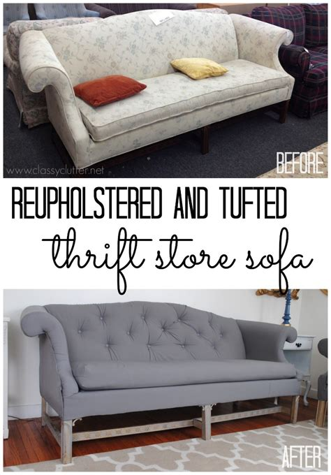 reupholstered couch how to reupholster a sofa