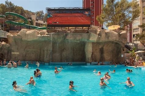 Rock Gardens Inn Magic Aqua Rock Gardens Hotel Benidorm Costa Blanca Spain Book Magic Aqua Rock Gardens Hotel
