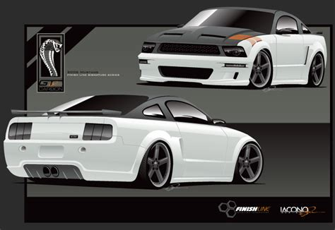 mustang wide body carbon kit top speed