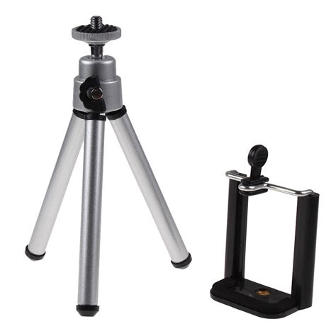rotatable tripod holder stand mount for mobile phone iphone 6 samsung ebay