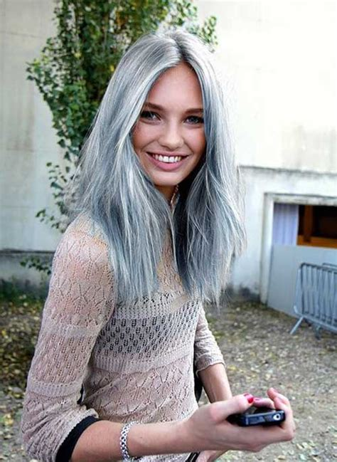gray hair in your 30s 30 long gray hair long hairstyles 2016 2017