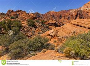 Landscape Rock In Utah Rock Mountains In Southern Utah Usa Stock