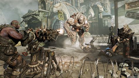 imagenes chidas de gears of war 3 nuevas imagenes de gears of war 3 y presentacion de