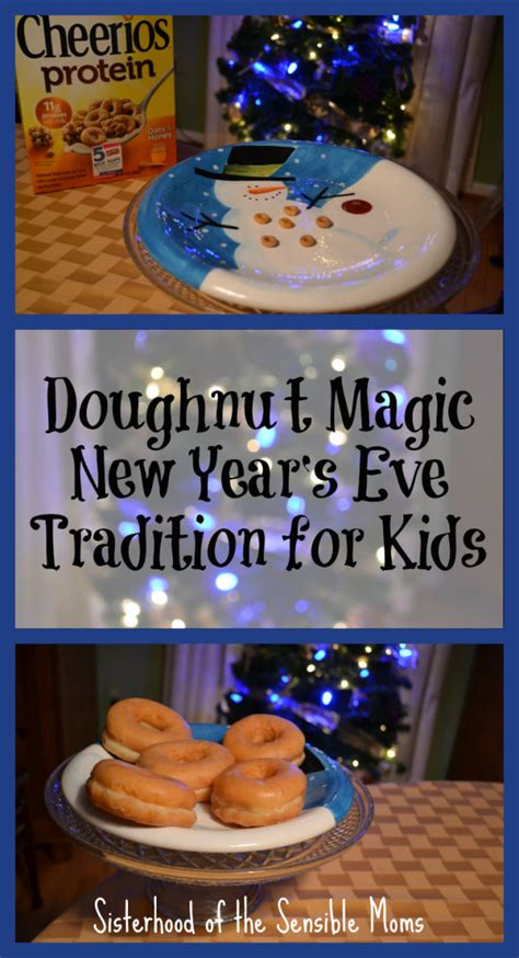 new year traditions at work doughnut magic new year s tradition for doughnut