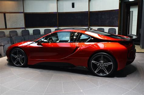 modified bmw i8 princess takes delivery of custom bmw i8 in abu dhabi