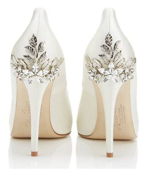 10 Prettiest Wedding Shoes by This Would Be Beautiful For A Fall Or Wedding