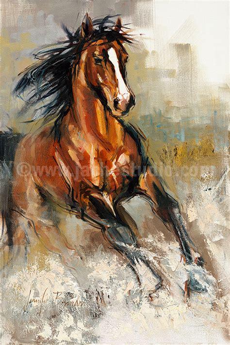 painting horses painting the stallion embellished