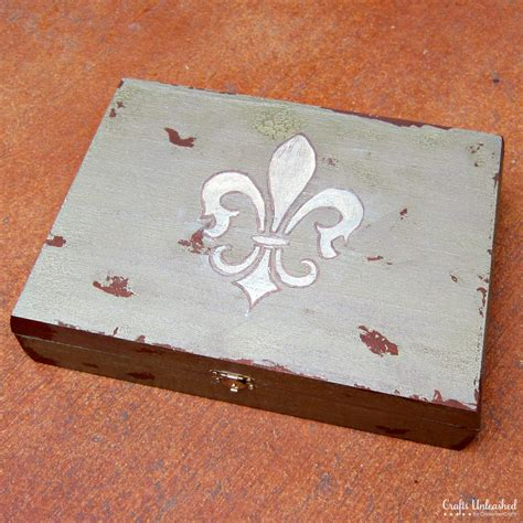 how to make jewelry box antiqued diy jewelry box