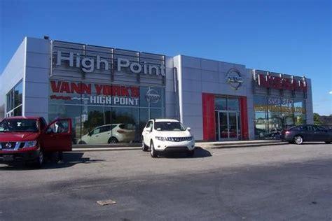 vann york nissan vann york s nissan car dealership in high point nc 27260