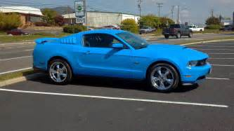 Blue Ford 2011 Grabber Blue Ford Mustang Gt 5 0 For Sale American