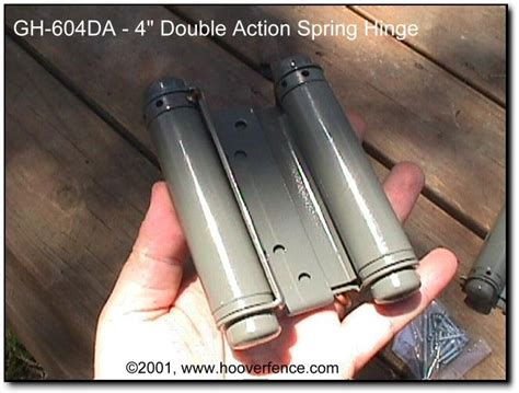 hinges for doors that swing both ways double action spring hinge gh 604da hoover fence co