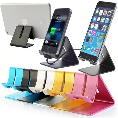 phone stand for desk universal aluminum desktop desk stand holder mount for