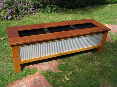 corrugated metal planter box corrugated steel planter box plans rug designs