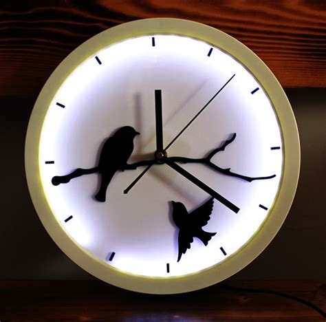 cool clock popular bird wall clock buy cheap bird wall clock lots