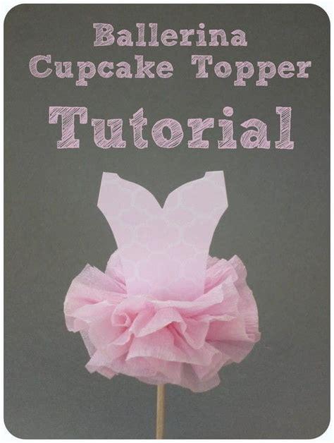 pin the tutu on the ballerina template ballerina tutu cupcake topper 183 how to make a cake topper