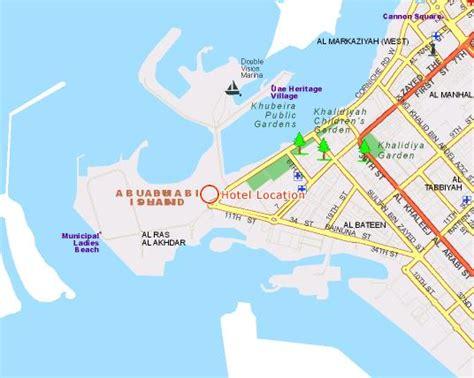 abu dhabi map location emirates palace hotel abu dhabi uae abu dhabi uae free