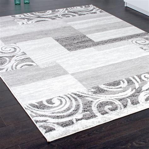 teppich shabby designer teppich wohnzimmer teppich kurzflor muster in