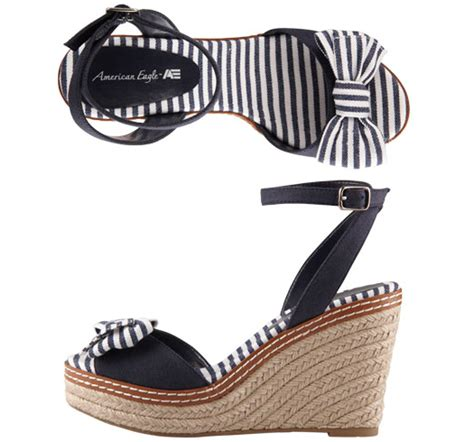 Wedges Sepatu American Eagles a casual patriotic look with a dash of nautical ffb clothing review clearing preppy s name