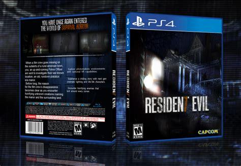 Kaset Ps4 Resident Evil 7 resident evil 7 playstation 4 box cover by jengasoft