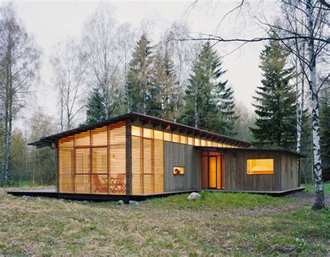 Wood Cabin Plans And Designs | summer cabin design award winning wood house by wrb modern house designs