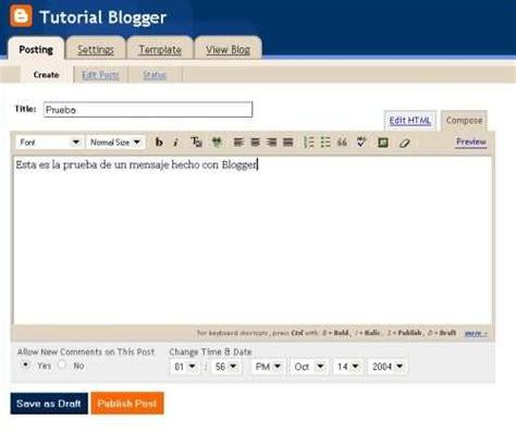 ci blog tutorial 191 en que consiste blogger