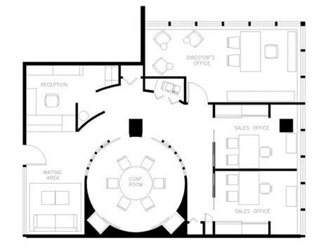 real estate office layout plan student work by michael wickersheimer at coroflot com