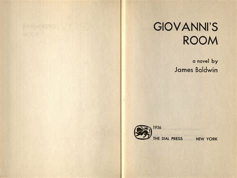 Giovannis Room Essay by The Works Of Baldwin Oviatt Library