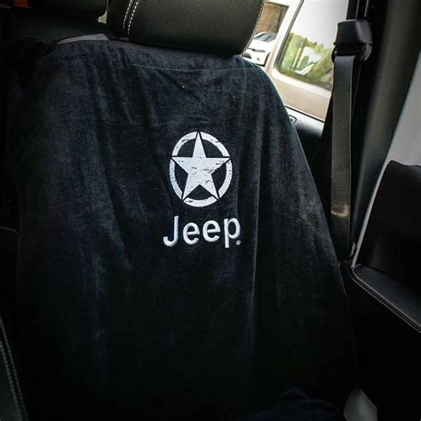 Jeep Seat Towels The Jeep Seat Towel Offers A Way To Protect Your