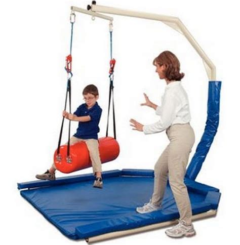 indoor therapy swing frame pediatric tumble forms vestibulator therapy pediatric