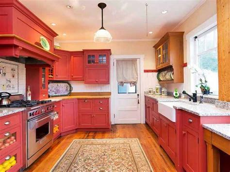 red kitchens with white cabinets red kitchen cabinets cheap sleek kitchen cabinets in red