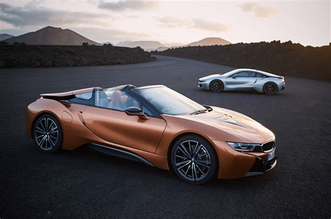 2019 Bmw Roadster by 2019 Bmw I8 Roadster Arrives Alongside Updated Coupe