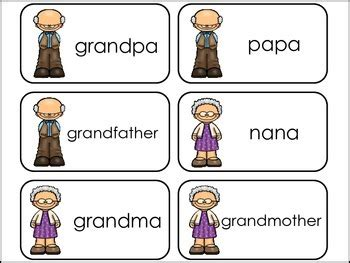 Word Family Cards Printable