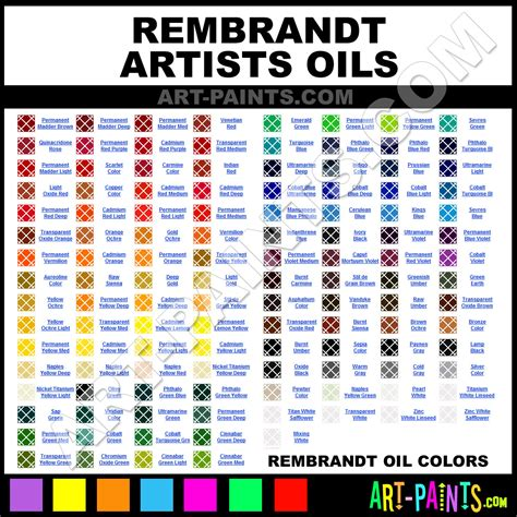 rembrandt artists paint colors rembrandt artists paint colors artists color artists oils