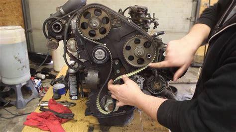 installing  timing belt  setting pump timing   aaz