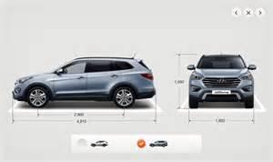 Length Of Hyundai Santa Fe Hyundai Santa Fe Length