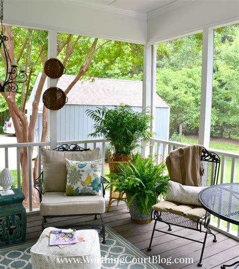 screened porch makeover a screened porch haven for warm summer days