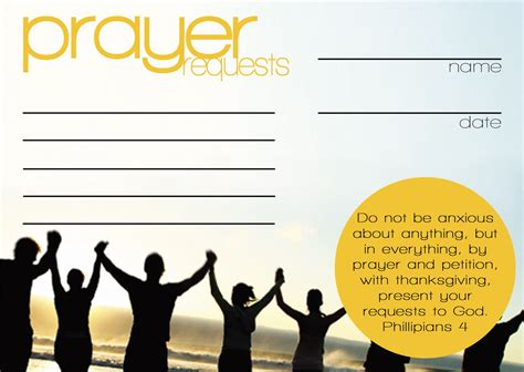 prayer request card template prayer request cards templates favorite q view size