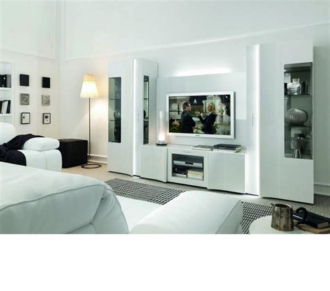 dreamfurniture com armonia modern glossy entertainment