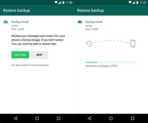 tutorial whatsapp recovery how to restore deleted chats on whatsapp