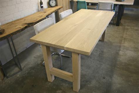 eiken tafelblad nijmegen tafels op maat nijmegen natuurlijktafelen