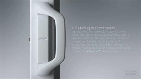 Door Handle For Glass Door Milgard Smarttouch Sliding Glass Door Handle By Tim Hulford At Coroflot