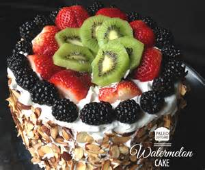 wassermelonen kuchen watermelon cake recipe dishmaps