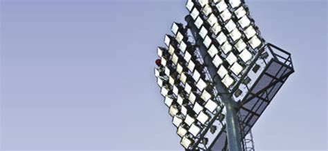 illuminazione stadio stadio porta elisa ecco le nuove torri faro verde