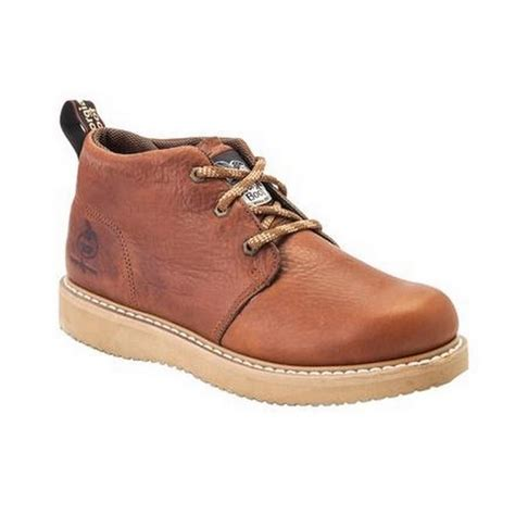 mens ranch boots mens barracuda gold leather farm ranch chukka