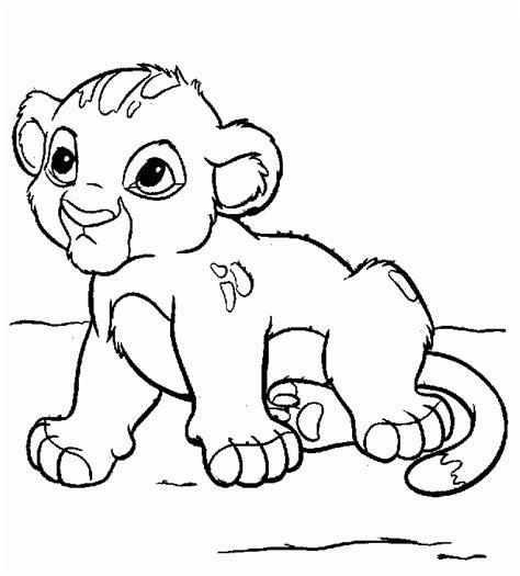 imagenes de leones infantiles para colorear galer 237 a de im 225 genes dibujos de el rey le 243 n para colorear