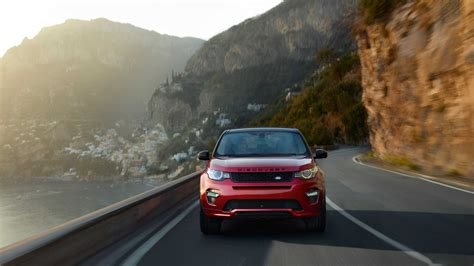 2016 Land Rover Discovery Sport Dynamic Red Hdwallpaperfx