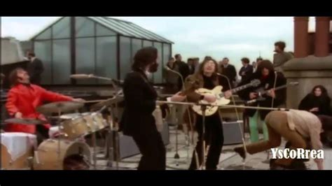 the beatles don t let me down rooftop don t let me down the beatles 720p youtube