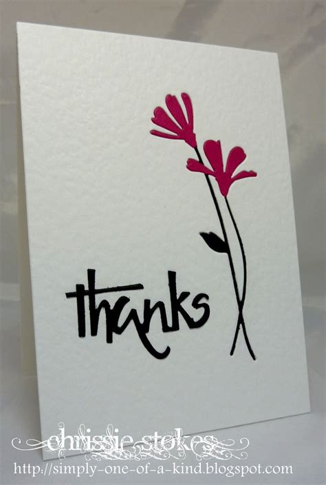 Handmade Thank You Card - made thank you cards search results calendar 2015