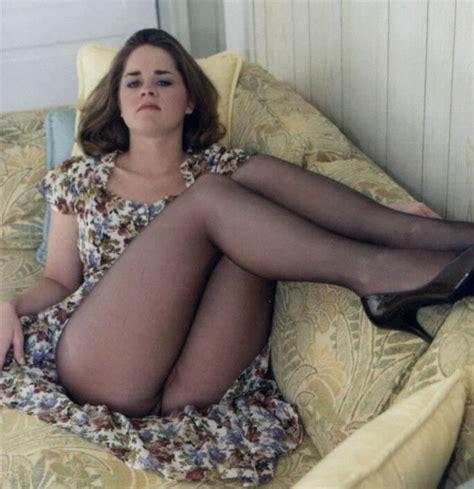 Merina Blue Nyla legs up and nylons selfies legs